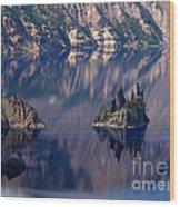 Crater Lake 2 Wood Print
