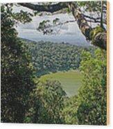 craterlake in Montagne d'Ambre National Park Madagascar Wood Print