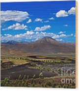 Craters Of The Moon Wood Print by Robert Bales