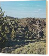 Craters Of The Moon2 Wood Print