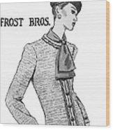 Cravat Wood Print