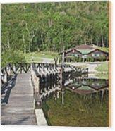 Crawford Notch State Park - White Mountains Nh Usa Wood Print