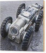 Crawler Pipeline Camera Wood Print