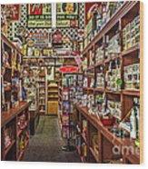 Crawley General Store Wood Print
