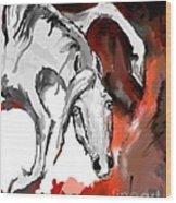Crazy Horse 7 Wood Print