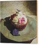 Creamy Cake Wood Print