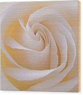 Creamy Swirl Wood Print