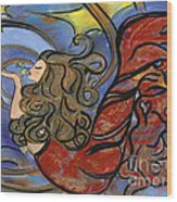 Creating Inspiration - Mermaid Wood Print
