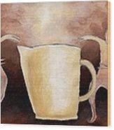 Creator Of The Coffee Wood Print