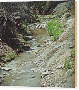 Creek Wood Print