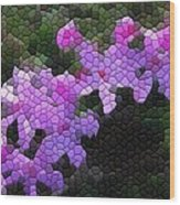 Creeping Phlox Wood Print