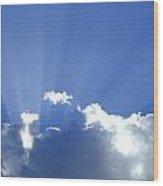 Crepuscular Rays 2am-005269 Wood Print