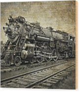 Crescent Limited Locomotive Of 1927 Wood Print