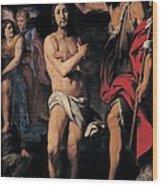 Crespi Daniele, The Baptism Of Christ Wood Print