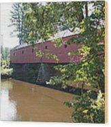 Cresson Bridge Wood Print