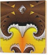 Crest Wood Print
