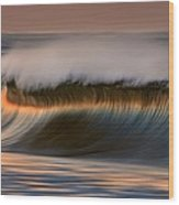 Cresting Wave By David Orias  Wood Print