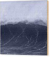 Cresting Wave Wood Print