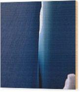 Crevasse 2 Wood Print