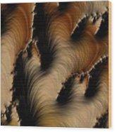 Crevasses  Wood Print