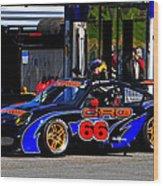 Crg 66 At Porsche Cup Wood Print