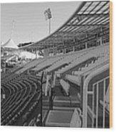 Cricket Pavilion Wood Print