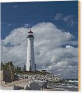 Crisp Point Lighthouse 15 Wood Print
