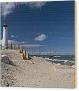 Crisp Point Lighthouse 17 Wood Print
