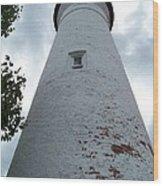 Crisp Point Lighthouse Wood Print