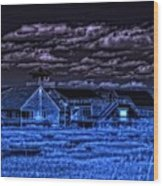 Crisp Wood Print by Thomas  MacPherson Jr