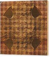 Criss-cross Wood Print