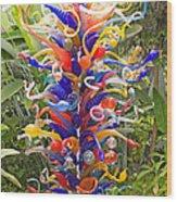 Cristal Garden 2 Wood Print