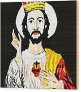 Cristo Rei Wood Print