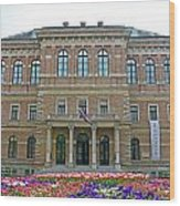 Croatian Academy Of Sciences And Arts  Wood Print by Borislav Marinic