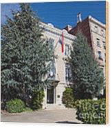 Croatian Embassy Wood Print