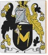 Croke Coat Of Arms Irish Wood Print