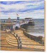 Cromer Pier Norfolk Wood Print