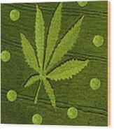 Crop Circles Wood Print