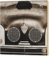 Crosley Front End Grille Emblem Wood Print