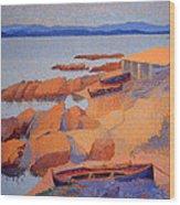Cross' Coast Near Antibes Wood Print