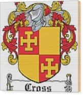 Cross Coat Of Arms Irish Wood Print