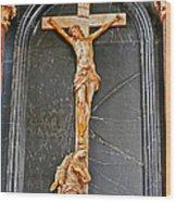 Cross Of Trier Wood Print