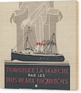 Cross The Channel In A  Passenger Wood Print