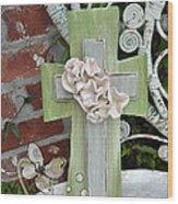 Crossfit Wood Print