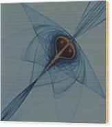 Crossing Orbits No. 2 Wood Print