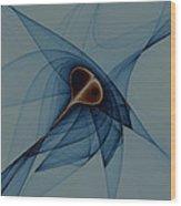 Crossing Orbits No. 3 Wood Print