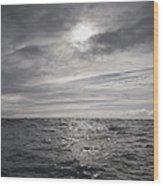 Crossing The Celtic Sea Wood Print