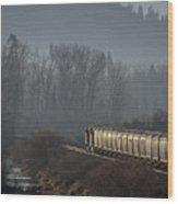 Crossing The Delta  -  150310a-021 Wood Print