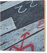Crosswalk Wood Print by Jim Wright