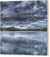 Croton Reservoir Wood Print